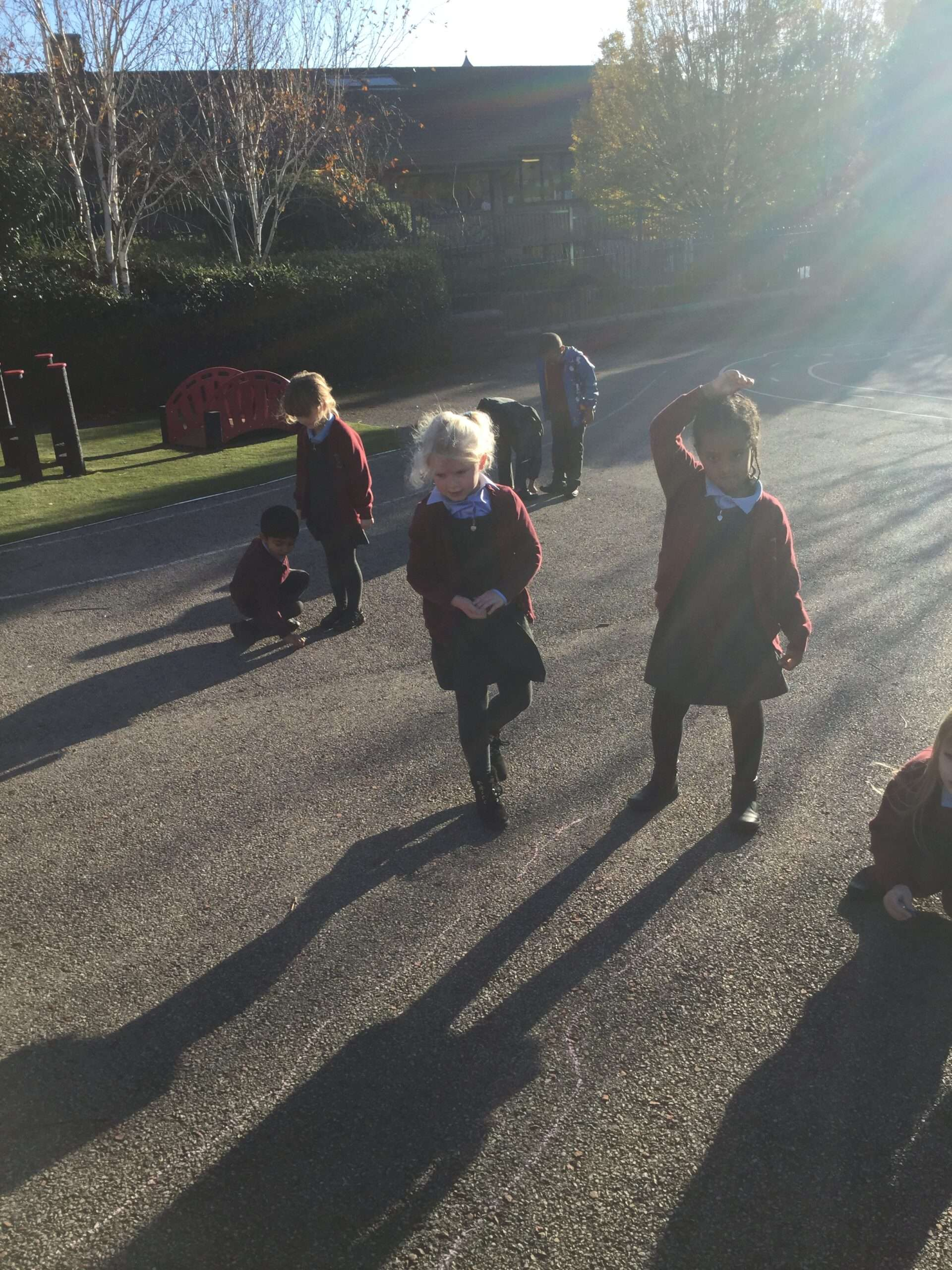Fun with Shadows in Year 1.