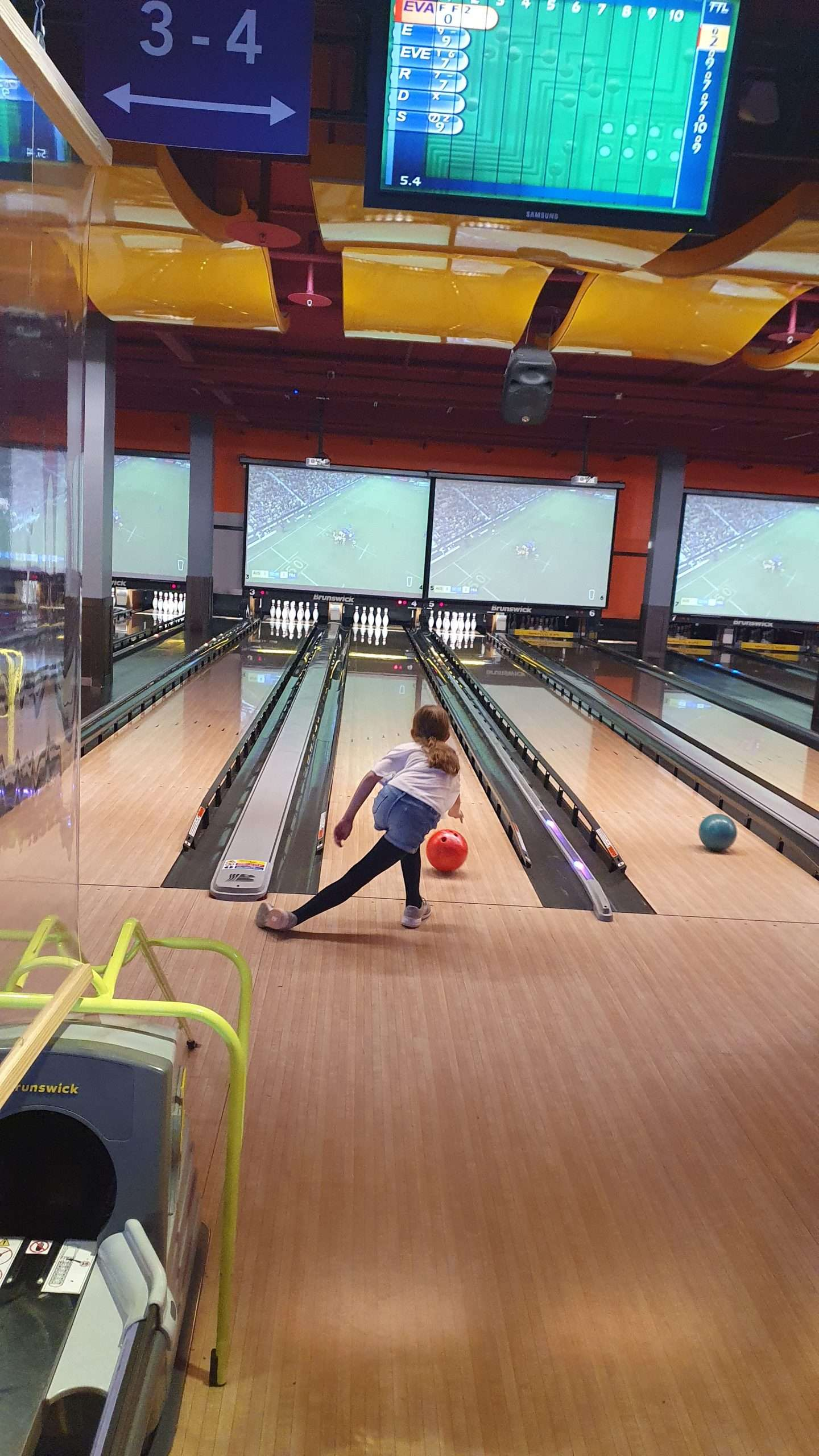 Bowling is right up our alley!