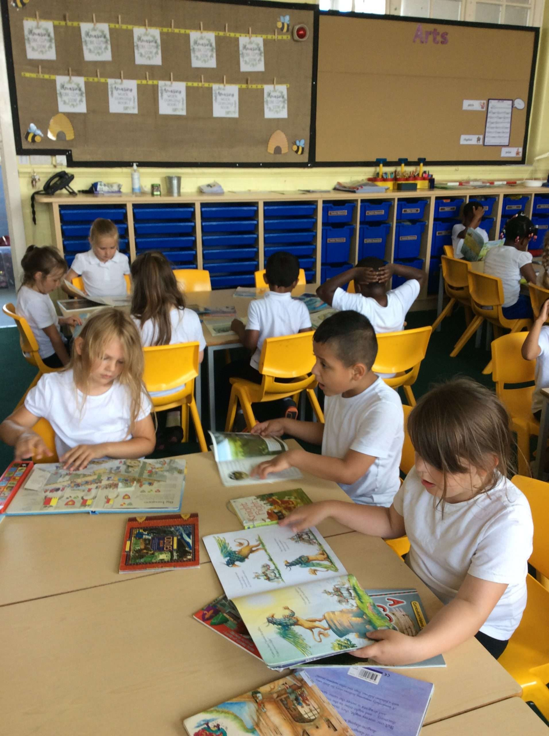 Summer Reading in Year 1