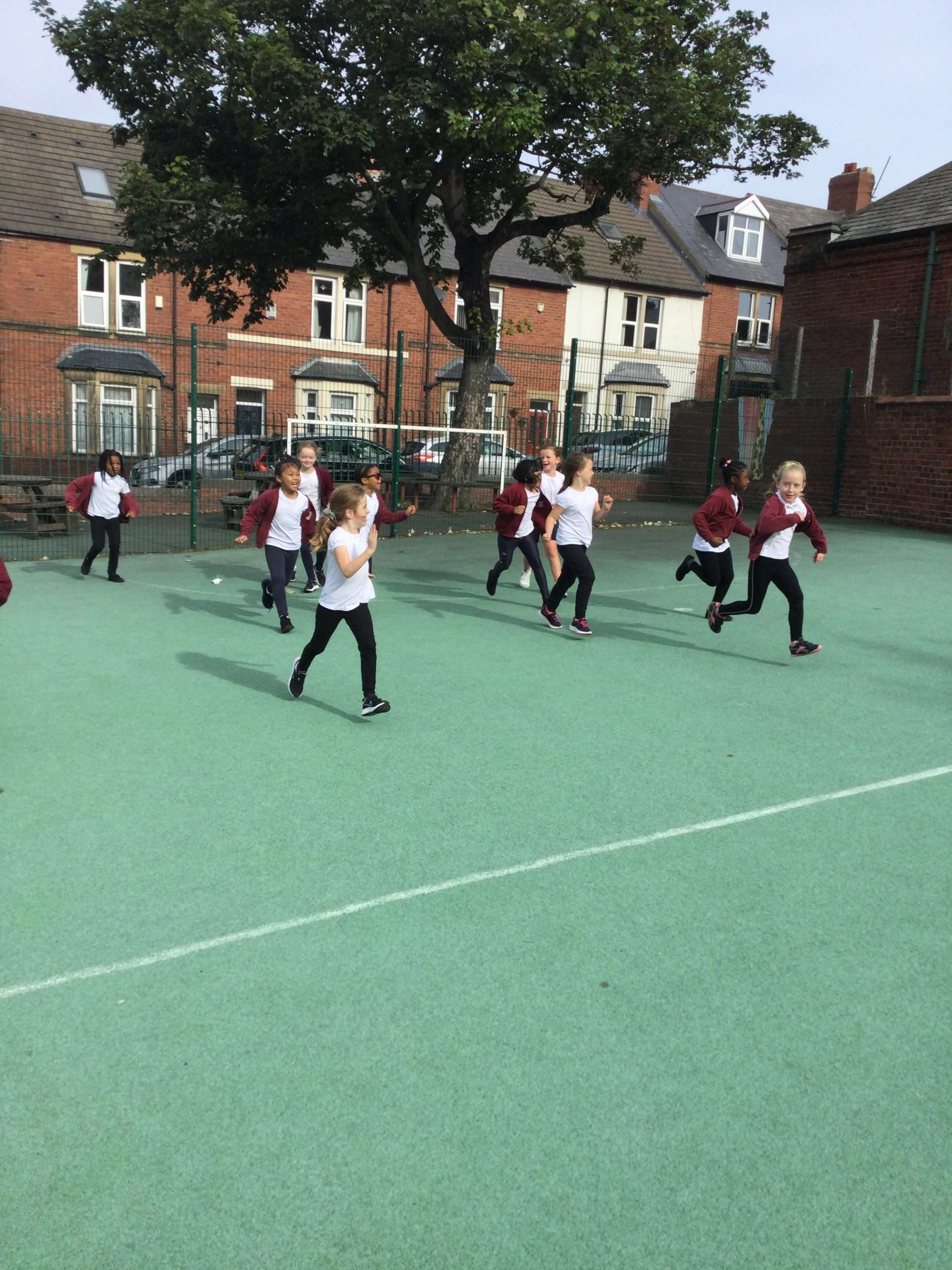 Keeping fit in Year 3