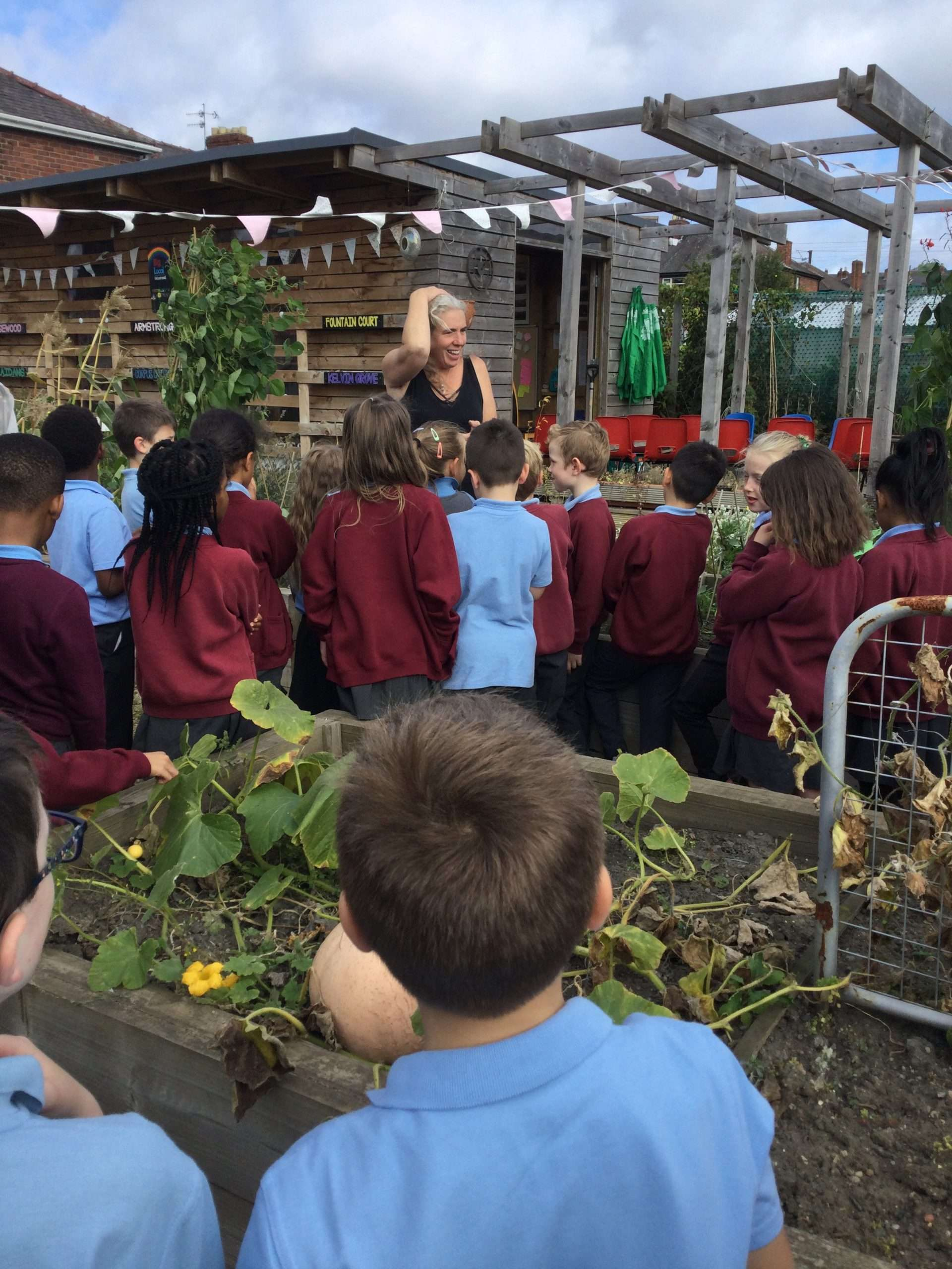 Year 3 Outside Learning – Fun at the allotments