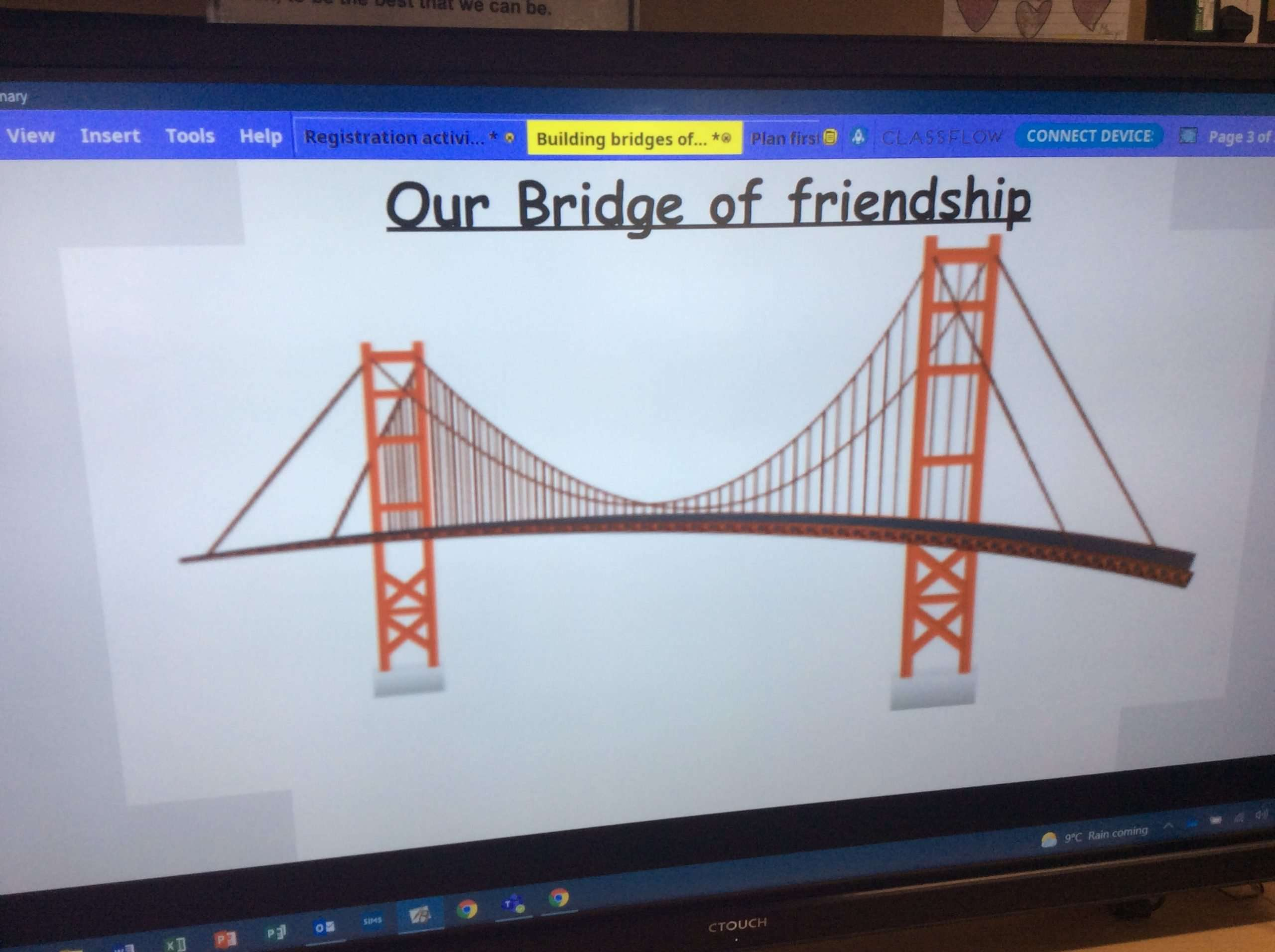 Our bridge of friendship