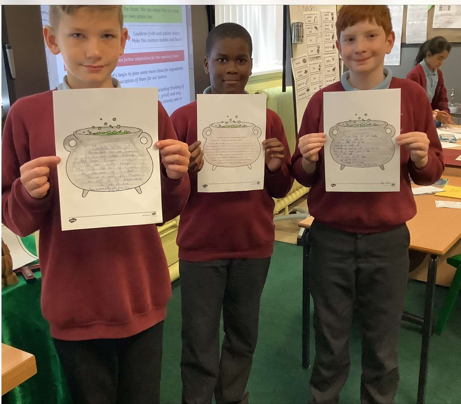 Year 6- National Poetry Day